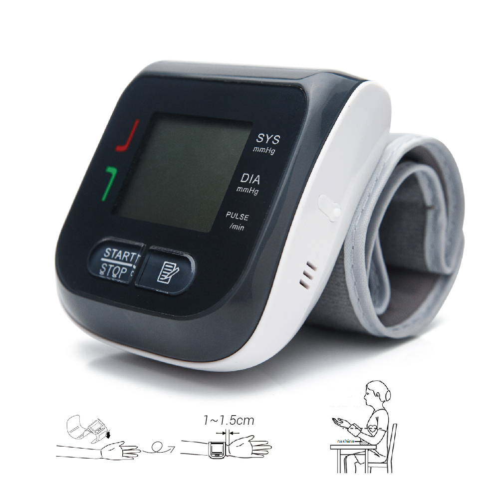 arm wrist blood pressure monitor (3)