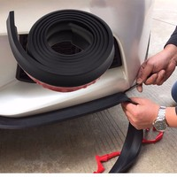 2 5M Car Front Rear Bumper Guard Protector Side Door Edge Strip Trim Moulding Strap For