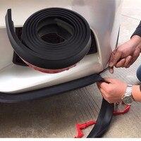 2 5M Car Front Rear Bumper Guard Protector Side Door Edge Strip Trim Moulding Strap For