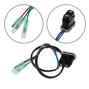 High Quality 1 Pc Trim & Tilt Switch Assembly for Yamaha Motor Outboard Remote Controller Motorcycle Switch NEW 703-82563-02-00