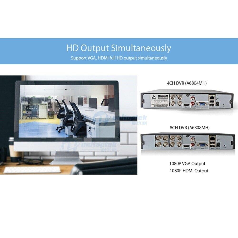 4Ch 8Ch 1080 P sécurité 3 en 1 AHD analogique IPC CCTV DVR NVR XVR enregistreur vidéo CCTV DVR RS485 contrôle coaxial P2P XMEye hybride DVR - 2