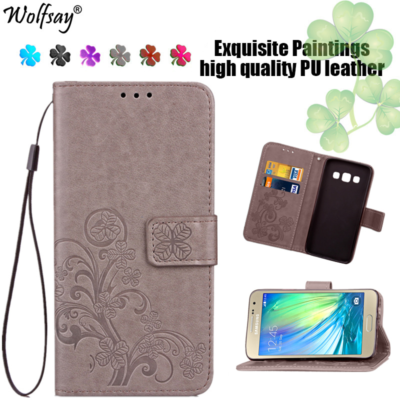 Wolfsay For Case Samsung Galaxy A3 Cases A300 Leather Wallet Phone Bag Case For Samsung Galaxy A3 Cover For Samsung A3 <