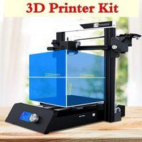 3D Printer Magic Printer Full Metal DIY KIT Large Build Size 220*220*250mm FDM LCD Touvh Screen Magic 3D Printer Kit