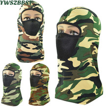 New Camouflage Men Beanies Women Riding Mask Dustproof Masked Cap Autumn Winter Outdoor Women Knitted Hooded Hat Scarf men women balaclavas multifunction masked cap outdoor windproof cycling hooded scarf practical warm hat mz5230
