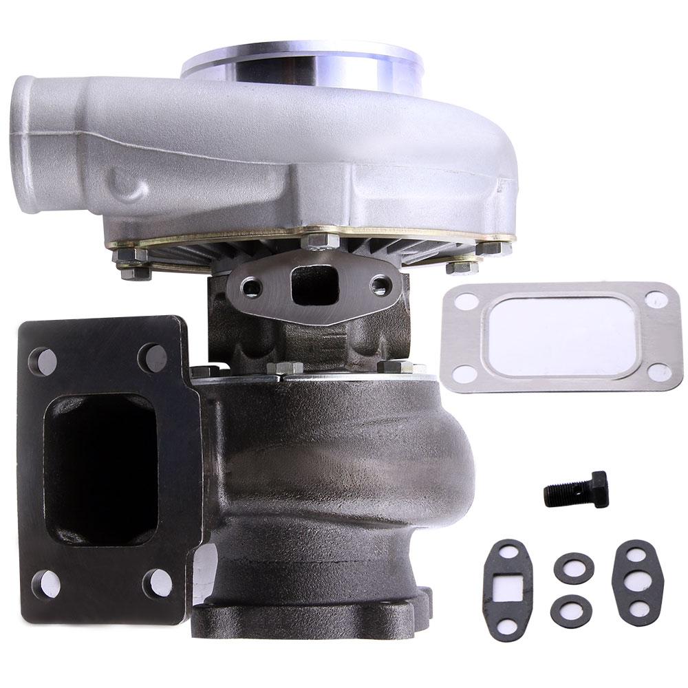 GT3076R GT30 GT3037 turbocompresseur 500HP T3 Turbo externe poubelle eau froide externe poubelle pour Audi VW Opel T3 AR 0.6