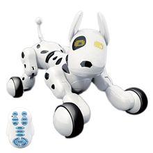 RC Smart собака петь танец ходить мини Дистанционное управление робот собака электронные игрушки для животных подарок для детей Brinquedos