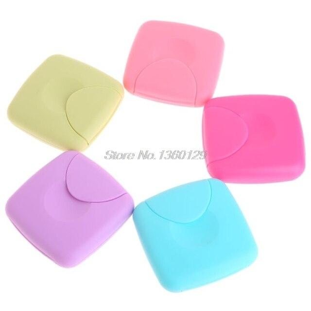 Servilleta sanitaria portátil para mujer, tampones, caja de almacenamiento, contenedor de Color caramelo