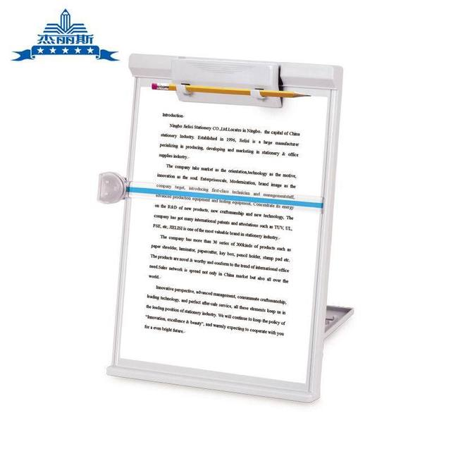 clipboard office paper holder clip. NO.753 Copy Holder Paper Clip Board Type Rack Reading Frame Computer Typing Document Clipboard Office I