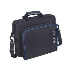 Для PS4/PS4 Pro Slim Game Sytem сумка оригинального размера для консоли playstation 4 защитная сумка через плечо Сумка холщовый чехол