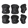 6pcs/set Padded Elbow Knee Wrist Pad Protection Kit For Skiing Snowboard Roller Skating Protective Gear Guards Children Kids
