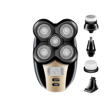 Kemei Multifunction 5 In 1 Electric Shaver 5 Blade Heads Raz