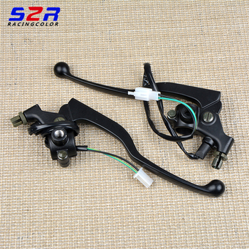 Motorcycle YB125 5VL handle lever for Yamaha 125cc YBR 125 front brake lever with clutch lever brake stop light switch cable фото