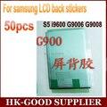 50 unids pegatina Para Samsung Galaxy s5 G9006v/w G9008v 9009D pantalla Lcd de nuevo adhesivo freeshipping