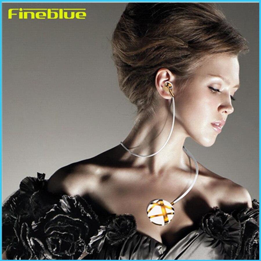Fineblue bluetooth-гарнитура для наушников моды портативный наушники с шумоподавлением С7