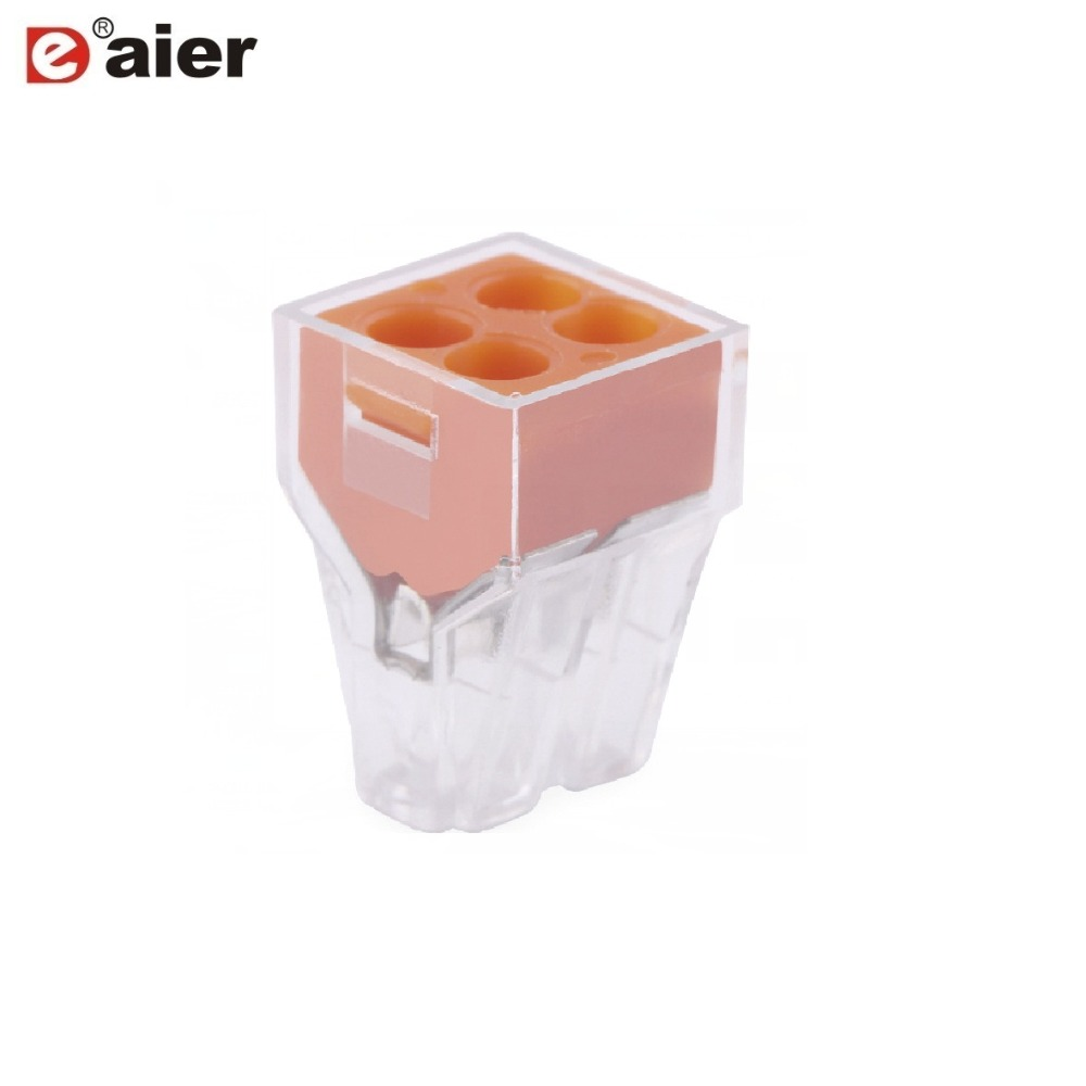 10PCS WAGO Replace 773 Clamp Terminal Block Push Wire Connector Series Mini Fast Wire Connectors Universal Compact