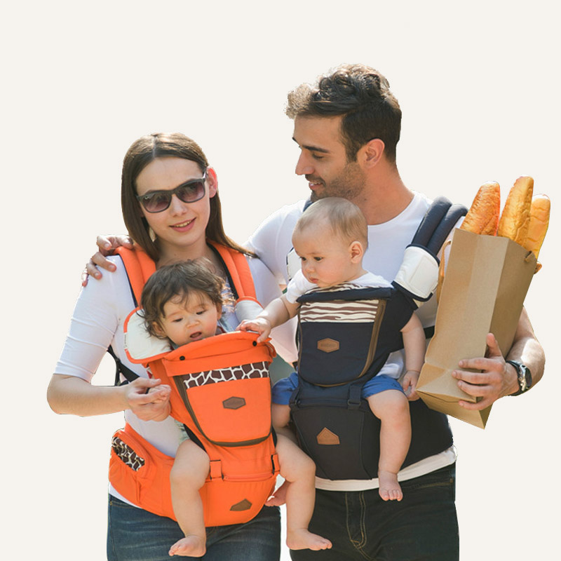 Backpacks Carriers Baby Infant Breathable Backpack Baby Carriers Baby Belt Sling Backpack Comfortable Infant Waist Stool Carrier bethbear comfortable breathable multifunction carrier infant backpack baby hip seat waist stool
