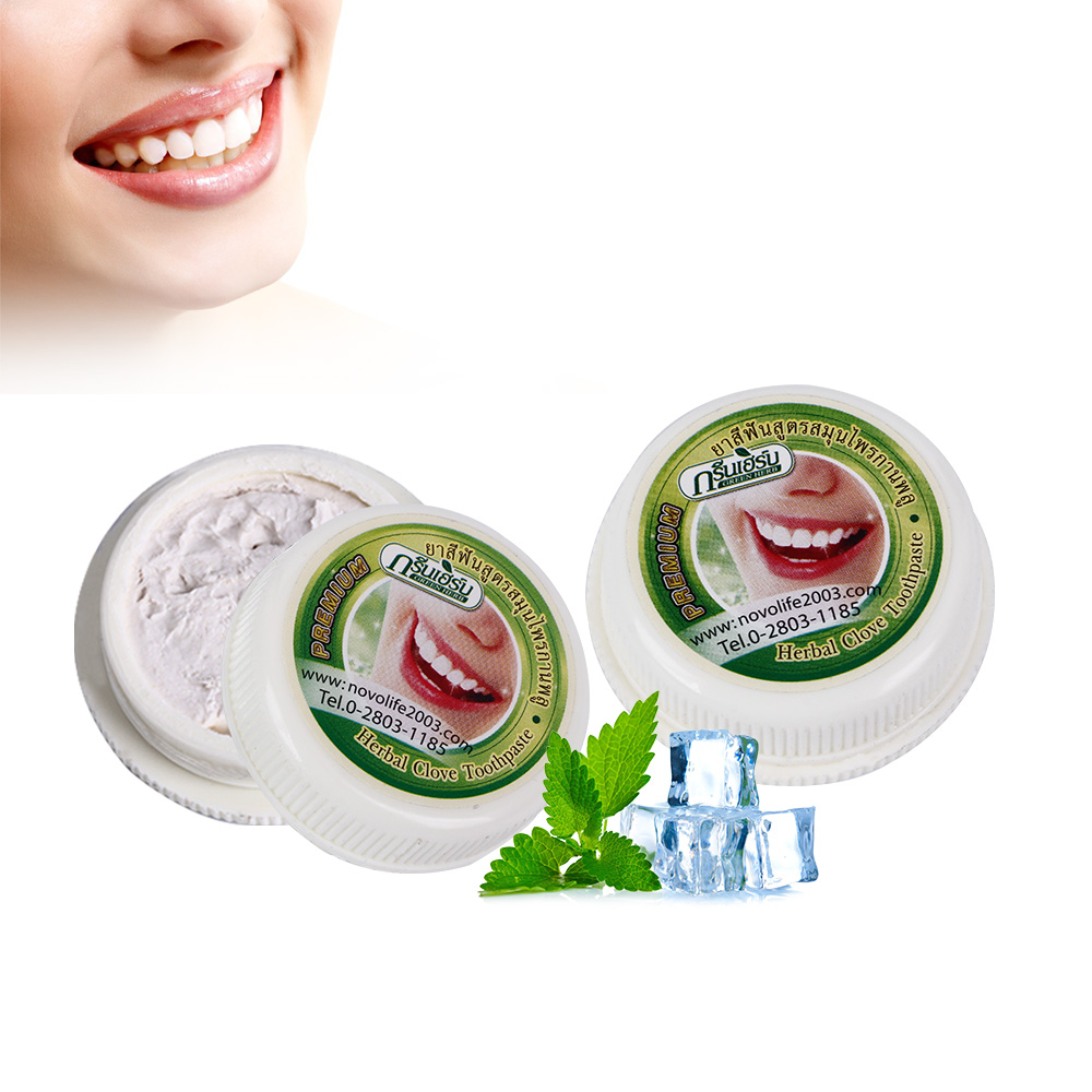 Image 4 - 10g/25g Herb Natural Herbal Clove Thailand Toothpaste Tooth  Whitening Toothpaste Antibacterial Allergic Tooth Pastetooth  whiteningthailand toothpasteherbal clove