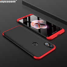 Phone Cases For Xiaomi mi 6X 2A Case 360 Full Protective 3 in 1 Matte Hard PC Shockproof Cover