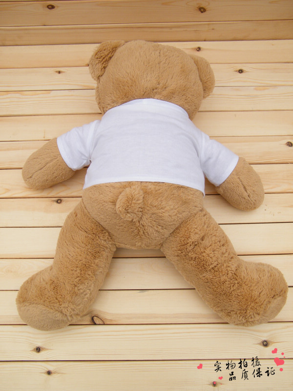 70cm Plush and stuffed animals doll Large giant brave teddy bear dolls cloth doll toy children kids  doll  easter birthday gifts