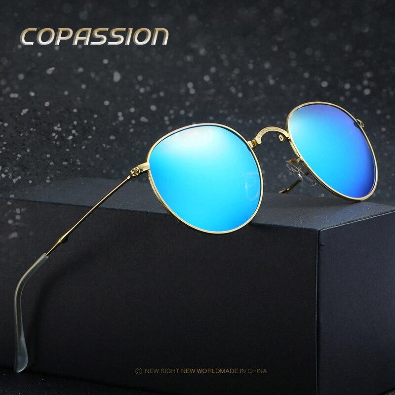 Bbrand conception Unisexe Pliable lunettes de soleil Polarisées femmes hommes Mode Pliant en métal cadre steampunk lunettes hommes de lunettes oculos