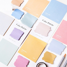 8 pcs Color pallete Sticky notes memo pads Post Pantone card note pad Planner stickers Stationery Office School supplies A6092 8 pcs cute cat sticky note set 30 page memo pads diary stickers planner guestbook kawaii stationery office school supplies f044