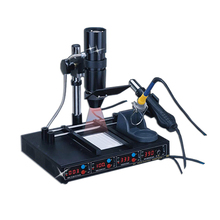 220V 110V KADA 862d++ 4 In 1 Full Auto IRDA Infrared Soldering Station BGA Rework Machine