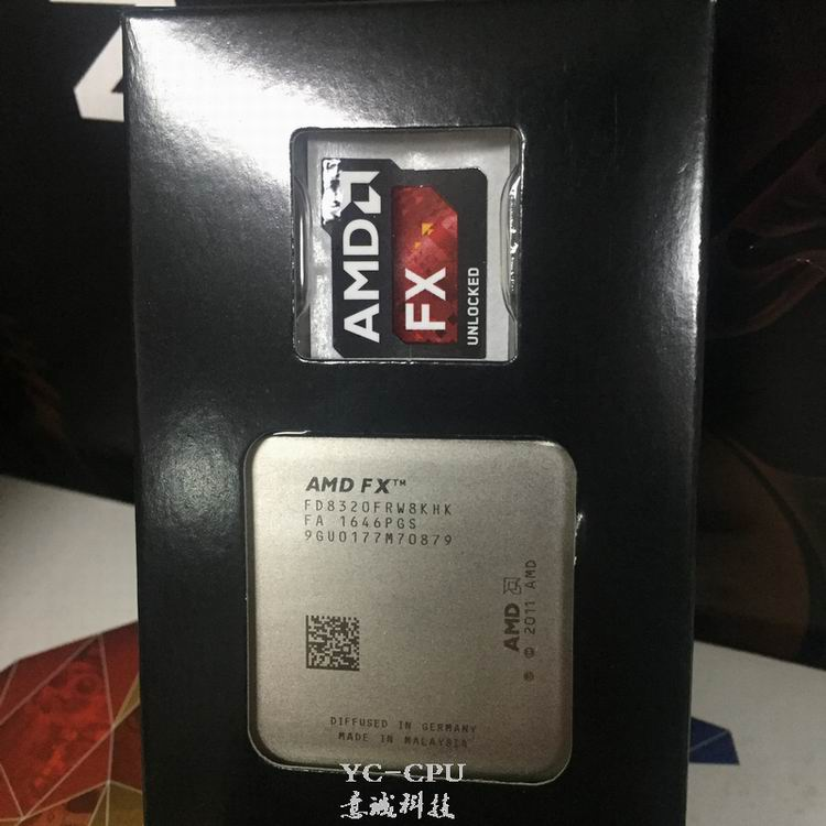 Amd Fx 8320 Cpu Processor Eight Core 3 5g 8m 125w Desktop Socket