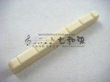 Elfenbein weiß kunststoff 42*3*5-4,5 MM SQ ST elektrische gitarre oberen violine mutter/vordere violine mutter/oberen string mutter/oberen violine brücke