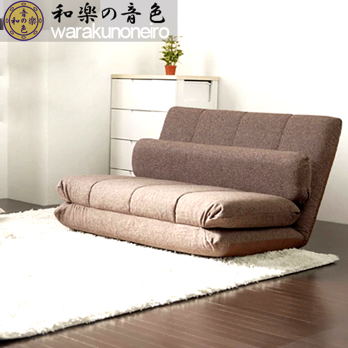 Foreign Environmental Tatami Cloth Double Futon Japanese Style Single Small  Sofa Bed Small Apartment Multifunction
