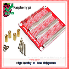 Raspberry B + B second generation B GPIO expansion board A copy of three copper studs HAT [52.PI]