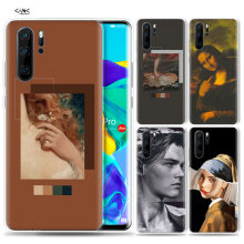 Case for Huawei P30 P20 P10 P9 Mate 10 20 Lite Pro Mobile Cell Phone Bag P Smart Z 2019 Plus Accent wall lockscreen art Tumblr P(China)