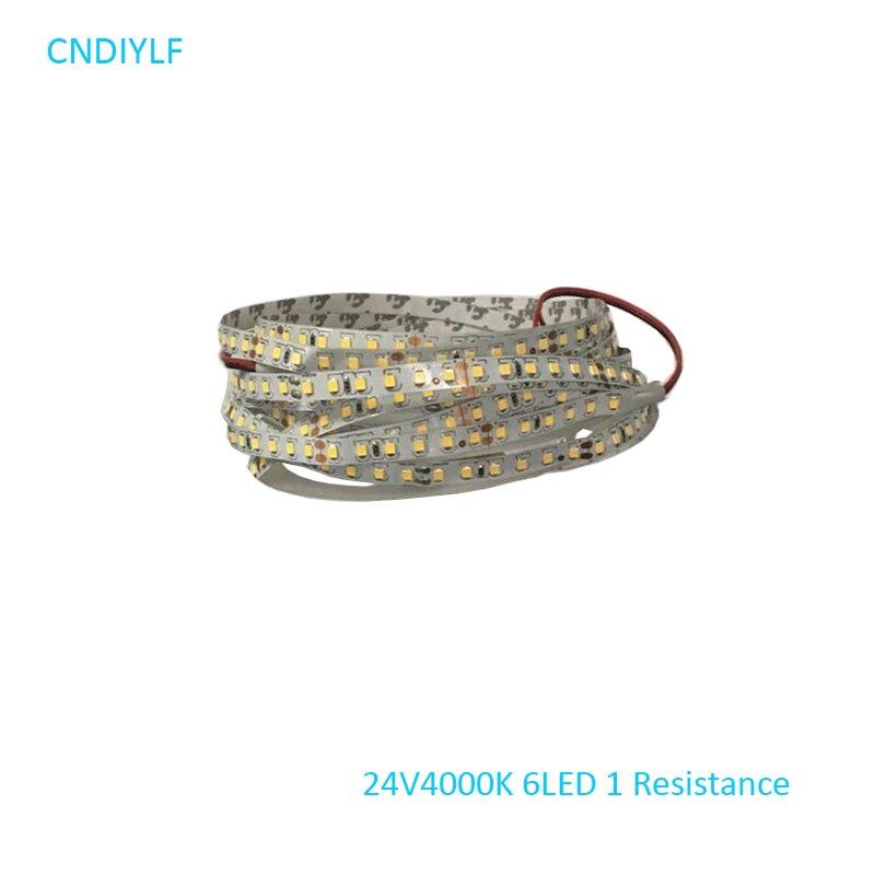 Envío rápido vía correo aéreo regisiter LED tira de luz 24 V 5 m - Iluminación LED