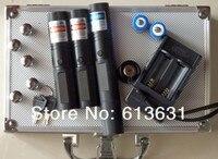 50000 м синий лазерный 450nm + 50000 м красный лазер + 50000 м зеленый лазер 3 в 1 фокус LAZERr, сжечь сигареты + Зарядное устройство + коробка
