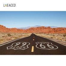 Laeacco исторический путь 66 США пустыня голубое небо природный