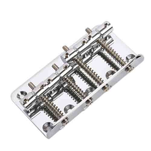 vintage 4 string bass bridge for precision jazz bass guitar parts chrome in guitar parts. Black Bedroom Furniture Sets. Home Design Ideas