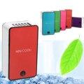 Mini portátil Sin Hojas Sin Bisturí Frío Recargable USB Ventilador Del Aire Acondicionado Electrodomésticos ventilador aire acondicionado portatil