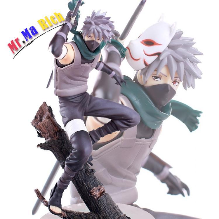 24 cm Anime Naruto Hatake Kakashi Pvc figurine à collectionner jouet avec boîte