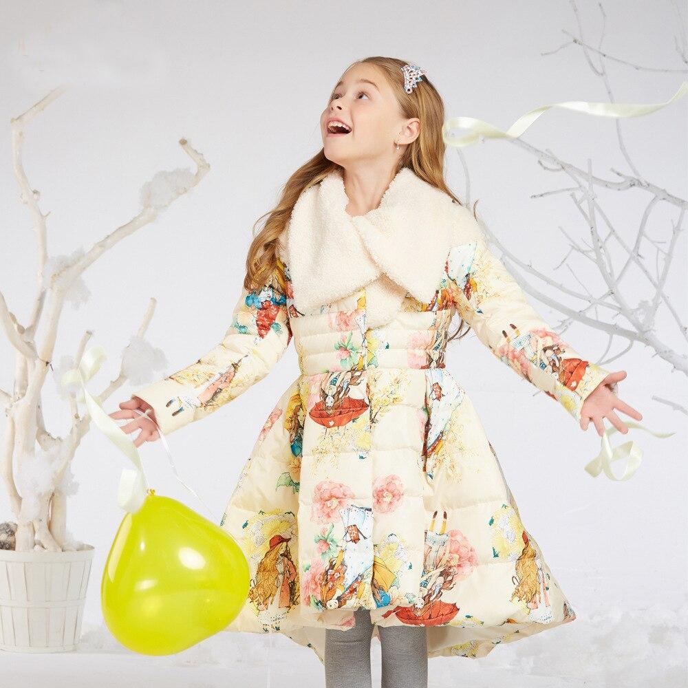 Prinzessin Kleine Mädchen Winter Jacken Teenager Mädchen Outwear ...