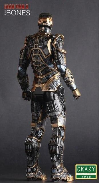 Фигурка Железный человек 3 костюм MARK - 41 BONES 2