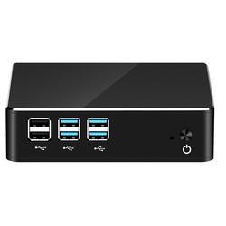 Оконные рамы 10 Мини ПК компьютер Intel Core i7 7500U i5 7200U i3 7100U 4 к Поддержка HDMI VGA 300 м Wi Fi Gigabit Ethernet Minipc NUC