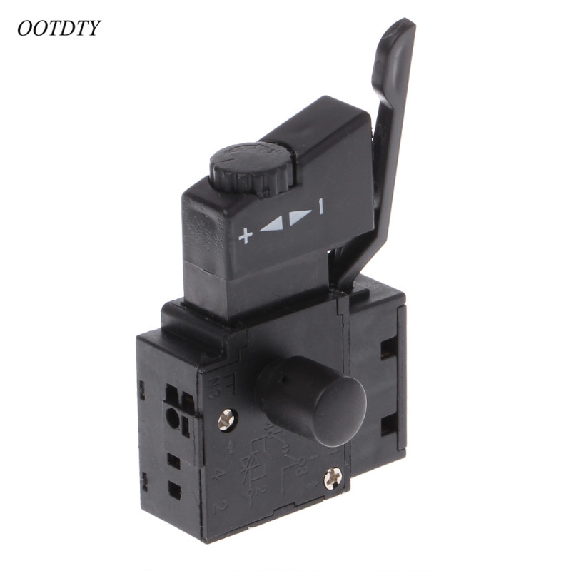 on-Lock Button SPST Trigger Switch for Power Tool Cut off Machine 90x45x2.3mm