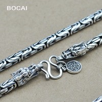 Тайский серебряное ожерелье тонкой серебряной цепи ожерелье ручной ведущие мужчины оптовая продажа