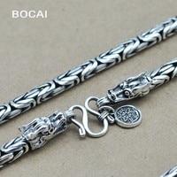 Thai silver necklace pendant necklace FINE SILVER CHAIN NECKLACE hand leading men wholesale