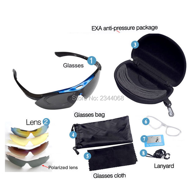 Agepoch Outdoor Men Fitover Cycling Magnetic Goggles Polarized Ski Sport Night Russia Visual Fishing Sunglasses
