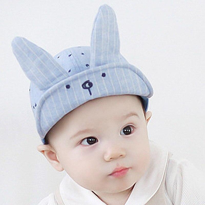 Baby Cute Cartoon Rabbit Hat Kids Baseball Cap Palm Baby Boys Girls Beanies Cotton Caps Casual Infant Unisex Visors Sun Hat