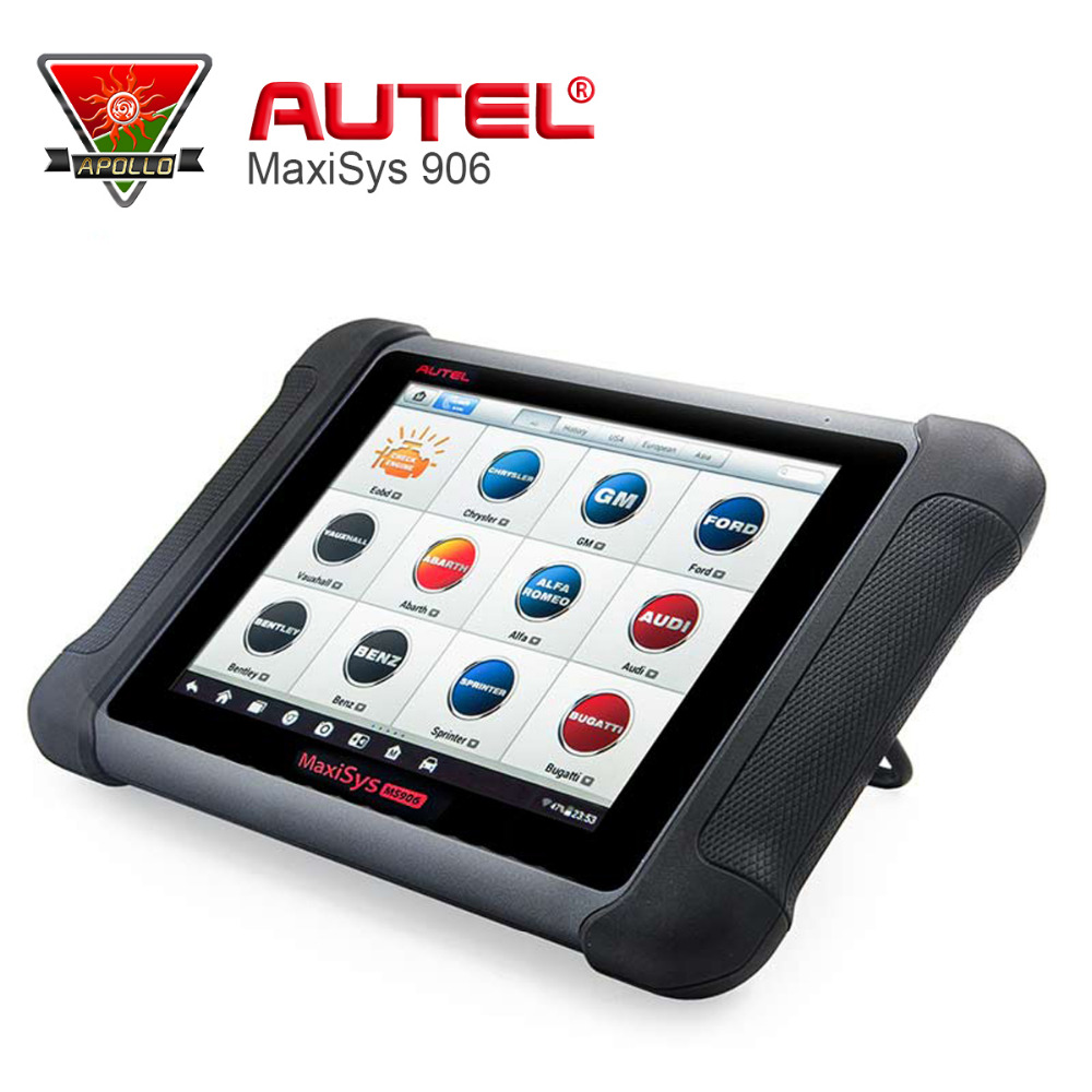 AUTEL MaxiSYS MS906 Diagnostic Scan Tool MS906 Scanner Powerful Than Autel MaxiDAS DS708 autel maxidas ds808 auto diangostic tool perfect replacement of autel ds708