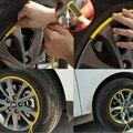 3 М Автомобилей Колеса Шины Ступицы Наклейки Уход Обложка Наклейка Литья Автомобилей Стайлинг Газа 8 М Авто Обод Шин Защиты