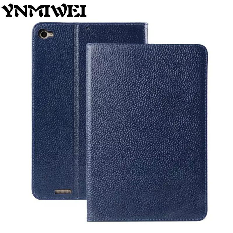 Mipad 3 Mi pad 3 Tablet case Cover Genuine Leather Smart Shell Skin Slim Protective Stand 7.9 For Xiaomi Mipad 2 Mipad2 Fundas phab2 plus soft silicone case cover ultraslim tablet phone case 6 44 protective stand for lenovo phab2 plus pb2 670 shell skin