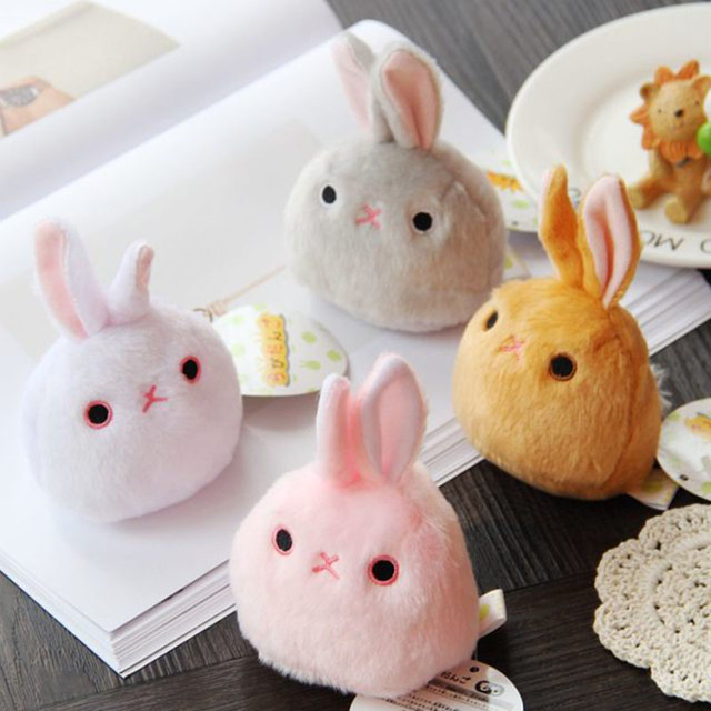 8cm Rabbit Plush Toys Mini Rabbit Doll Kids Gifts 4 Style Suft Cute