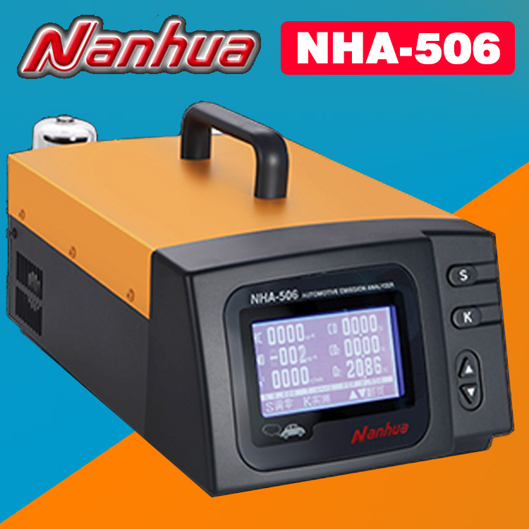 nha 506 nha 406 automotive exhaust gas analyzer detects five gases